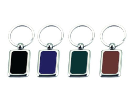 Coloured Plated Keyring