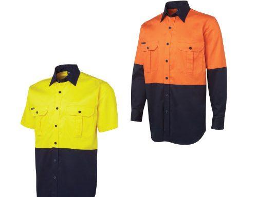 JB's Hi Vis 190g Work Shirt