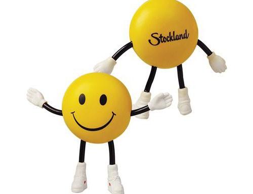 Anti-Stress Smile Guy