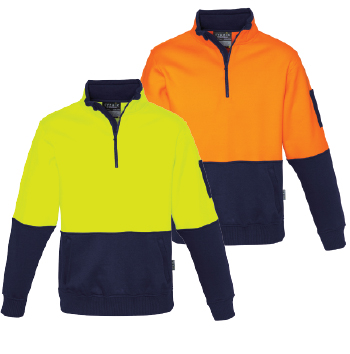 Syzmik Half Zip Pullover