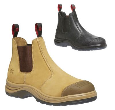 King Gee Tradie Elastic Pull-Up Boots