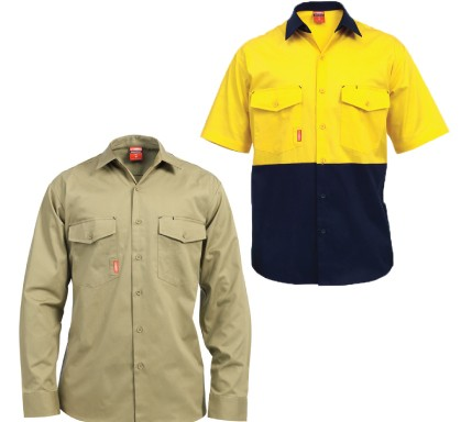 Stubbies Cooling Vent Drill Shirt