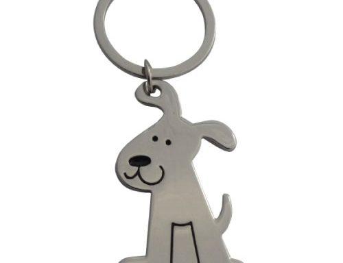 Dog Shape Keyring