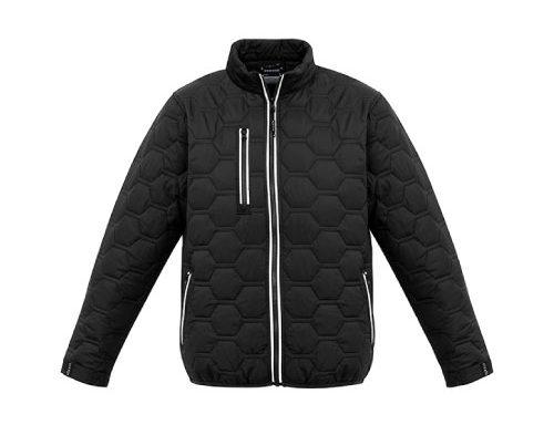Unisex Hexagonal Puffer Jacket