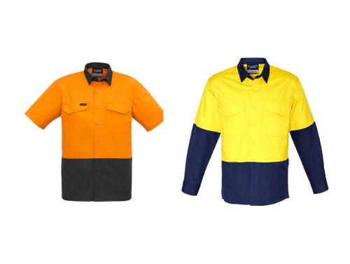 Syzmik Rugged Hi Vis Drill Shirt – No Reflective Tape