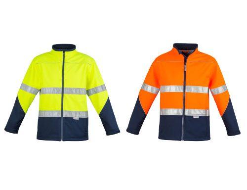 Unisex Hi Vis Soft Shell Jacket