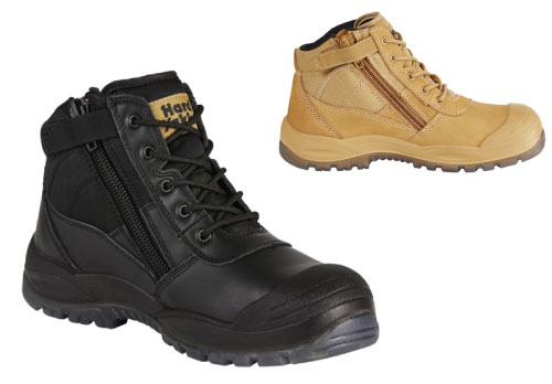 Hard Yakka Utility Side Zip Boot